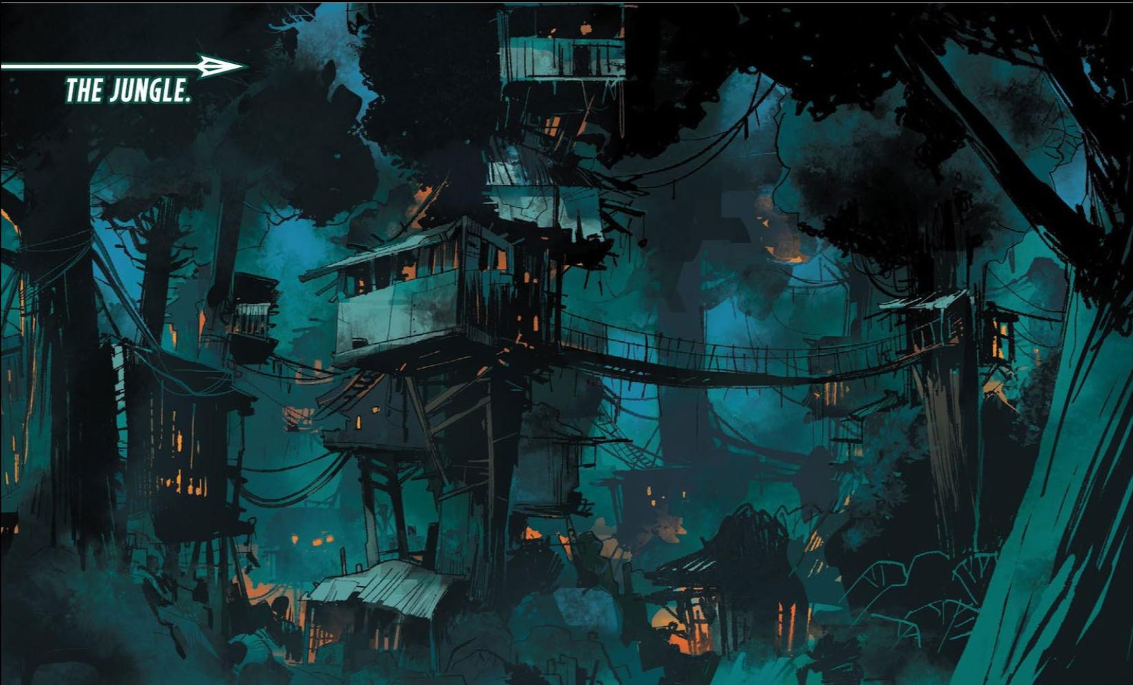 "Illustration of ""the jungle"""